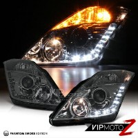 日産 フェアレディー Z ヘッドライト For 350z Z33 Fairlady JDM Smoke Projector LED Running Daytime Headlight Lamp...