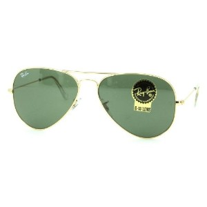 レイバン Ray Ban サングラス RB3025 L0205 AVIATOR LARGE METAL ARISTAGREEN(G-15 XLT)