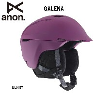 2017 anon アノン ヘルメット GALENA BERRY WO 【スノー雑貨】日本正規品