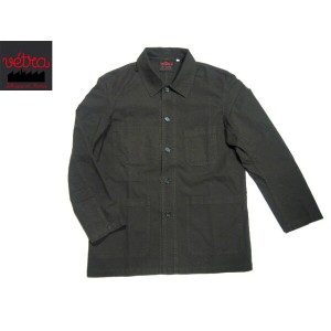 【期間限定30%OFF!】VETRA(ベトラ)/#4 MEN'S CANVAS COVERALL MADE IN FRANCE/khaki