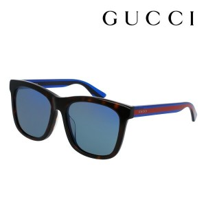 【GUCCI】 グッチ サングラス 正規販売店 アレッサンドロ・ミケーレデザイン GG0057SK 004 ミラー POP WEB WEB FRAME Made In Italy DEAL スクエア