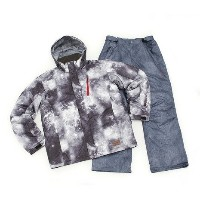 DREAM FLY MENS SKI SUIT メンズ 上下セット スキーウエア DF-MS0115SET BLKSMK (Men's)
