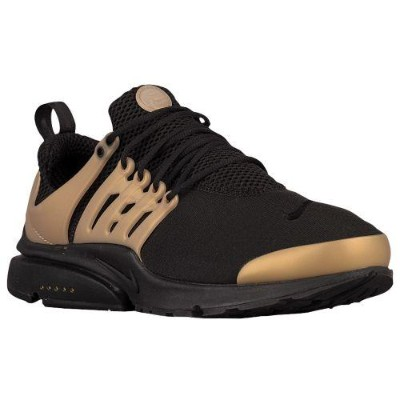 (取寄)Nike ナイキ メンズ エア プレスト スニーカー Nike Men's Air Presto Black Metallic Gold White Black
