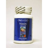 Allergy Research Group - Niacin Vitamin B3 250 mg 90 caps by Allergy Research Group