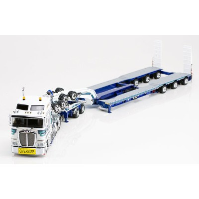 Mactrans Heavy Haulage - Kenworth K200 Prime Mover with Drake 2x8 Dolly and 3x8 Swingwing Trailer...