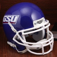 NCAA Schutt グルジア State Panthers Authentic ミニ ヘルメット - ロイヤル ブルー (海外取寄せ品)