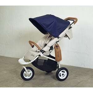【GMP正規販売店】エアバギーCOCOプレミア(ミッドナイトブルー)(エアバギーココプレミア、AirBuggyCOCO PREMIER)