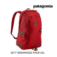 2017 PATAGONIA パタゴニア バックパック IRONWOOD PACK 20L FRE FIRE