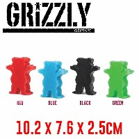 【GRIZZLY】グリズリー 2017春夏 Grizzly Grease グリース スケートボード スケボー 4カラー 【あす楽対応】
