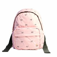 LeSportsac レスポートサック ナイロン リュックサック PICCADILLY BACKPACK ピカデリー バックパック リボン 刺繍 PETITE BOWS BLOSSOM ペティット...
