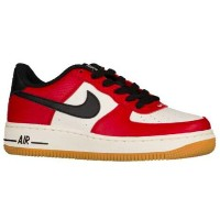 "Nike Air Force 1 Low ""Premium"" キッズ/レディース Gym Red/Black/Gum Light Brown/Sail ナイキ エアフォースワン"