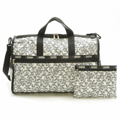 【40%OFF】 LeSportsac 7185 LARGE WEEKENDER ラージウィークエンダー レディース ボストン バッグ 旅行用 合宿 カバン SNOWFALL FLORAL...