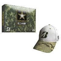 Bridgestone Golf e6 Dozen Army Bundle Hat Pack USブリヂストン USアーミー e6ボール キャップ