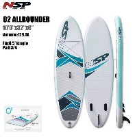 "NSP SUP インフレータブル SUP NSP Inflatable Board Oxygen Allround 10'0"" SUP 2017 SUPSUP S.U.P スタンド アップ..."