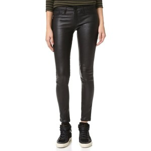 ディーエル1961 DL1961 レディース ボトムス ジーンズ【Emma Power Legging Leather & Coated Jeans】Poseidon