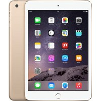 【中古】【安心保証】 SoftBank iPadmini3[WiFi+4G 128] ゴールド