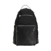 【Theory】Nylon Smooth Lther Backpack 異素材をバランス良く切り替えたバックパック。 ブラック 大人 セオリー