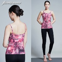 [zoozoom] Training Top ST2401 Pink Leopard 1color / y112