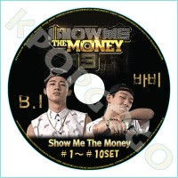 【韓流DVD】IKON★B.I・BOBBY★SHOW ME THE MONEY 3(#1~#10SET)10枚★【韓国バラエティー】☆K-POP DVD☆【SHOW ME THE MONEY...