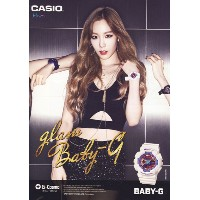 GIRLS GENERATION SNSD - Casio Baby-G Tae Yeon Watch BA-112-7ADR + Gift