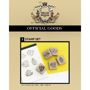 JYJ 2016 XIA BALLAD MUSICAL CONCERT with ORCHESTRA vol.5 公式グッズ STAMP SET