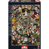 (John N. Hansen) Educa: Beer Tunnel Puzzle 1500 piece