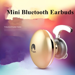 Touch Mini Bluetooth Headset Wireless Earbuds Hands-free Stereo Earphone with Mic for Cell Phone...