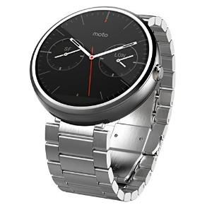 Motorola Moto 360 - Light Metal  23mm  Smart Watch ***Discontinued by Manufacturer***
