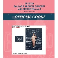 JYJ 2015 XIA BALLAD MUSICAL CONCERT with ORCHESTRA vol.4 公式グッズ DUVET COVER  PILLOW CASE