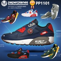 Paperplanes Unisex Athletic Running Shoes PP1101
