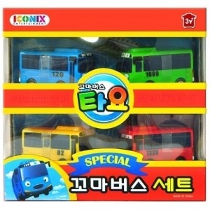 ★NEW ARRIVAL★ バス ミニカー セット / Tayo special mini car set 1 / Tayo Gani Lani Rogi / Tayo bus toy