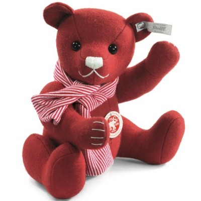 Steiff 036651 シュタイフ ぬいぐるみ テディベア Selection Felt Red Teddy Bear Limited Edition of 2000