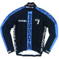 GSG G7 Passione LS Jersey Black/Blue