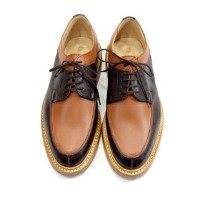 Tricker's 5778 Two Tone Apron Front Shoes : トリッカーズ 5778 ツートン エプロンフロント シューズ