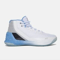 "Under Armour Curry 3 ""Birthday"" キッズ/レディース White / Opal Bluet アンダーアーマー Stephen Curry ステフィン・カリー バッシュ"