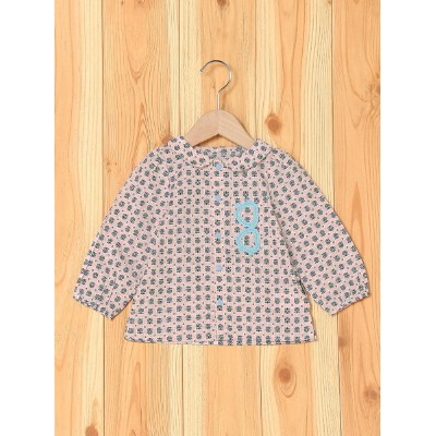 【SALE/50%OFF】BOO HOMES/BACK ALLEY/Natural Boo ブラウス キッズ ブーフーウー カットソー【RBA_S】【RBA_E】