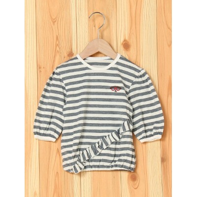 【SALE/50%OFF】BOO HOMES/BACK ALLEY/Natural Boo L/S Tシャツ キッズ ブーフーウー カットソー【RBA_S】【RBA_E】