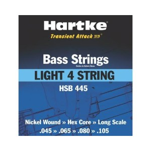 ハートキー ベース弦セット HSB445 Hartke Transient Attack Bass Strings 045/065/080/105