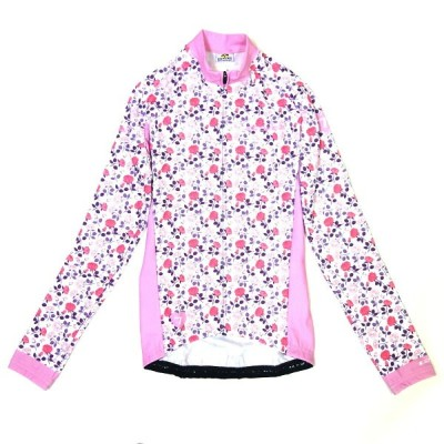 GSG Fiore Lady LS Jersey White/Pink