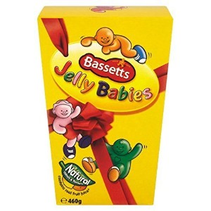 Bassetts Jelly Babies Carton (460g / 1lb 1oz) by Cadbury [並行輸入品]