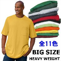 LARGE AND IN CHARGE HEAVY WEIGHT【ヘビーウエイト】【全11色】【3XL~9XL】大きいサイズ 無地 無地/プレーン 半袖Tシャツ(S/S TEE)大きいサイズ...