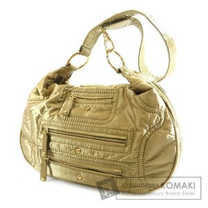 TODS ファスナーモチーフ ショルダーバッグ ナイロン素材 レディース 【中古】【トッズ】