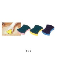 3M パワースポンジ No.3005 衛生陶器用 (10個入) 130×100mm  ピンク