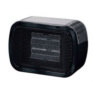 Mini Ceramic Fan Heater BLACK NC41588