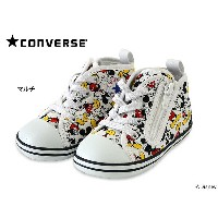 ★CONVERSE BABY ALL STAR N MICKEY MOUSE■7CK654-K[13.0cm-15.0cm]【ベビー 靴 くつ クツ スニーカー 子供 子ども ミッキー...