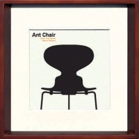 JIG アートポスター モダン デザインスタジオ Ant Chair ITY-14283