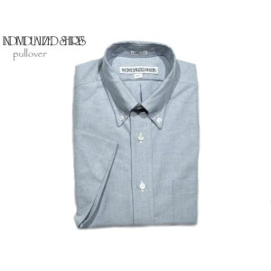 【期間限定30%OFF!】INDIVIDUALIZED SHIRTS(インディビジュアライズド シャツ)/SHORT SLEEVE STANDARD FIT PULLOVER MIDDLEBAND...