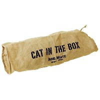 Add.Mate(アドメイト) cat in the BOX 麻通り抜けトンネル M 猫用おもちゃ