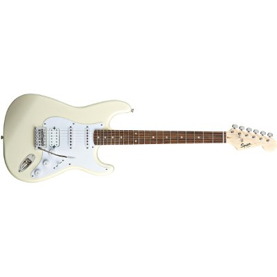 Squier by Fender / Bullet Stratocaster with Tremolo HSS Arctic white スクワイヤー エレキギター【WEBSHOP】【091812】