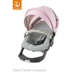 Stokke ストッケ ストローラーサマーキット【フローラピンク】[ベビーカーハイシート ベビーカーa型 ベビーカーb型 ベビーカー日よけ]